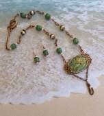 mermaid green set