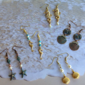Adventure In The Sea Earrings