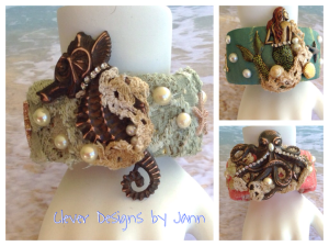 Seashore Cuff Bracelets