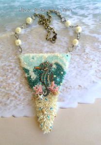 Seahorse Bead Necklace