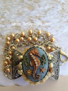 Seahorse Cab Bracelet