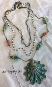Boho Clam Shell Necklace
