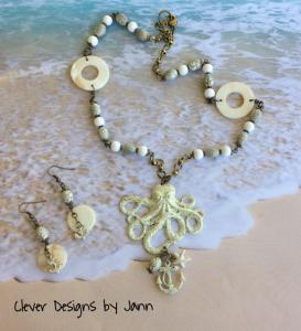 Octopus Necklace Set