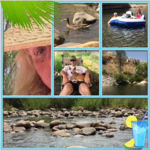 Relaxing at the Kern River