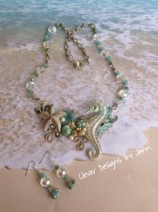Seahorse Starfish Necklace