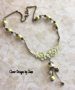 iced enamel necklace with charms 2