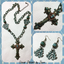cross necklace set 1